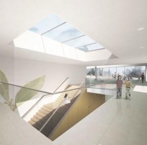 Beeld basisschool Bekkering Adams Architecten - Competition design